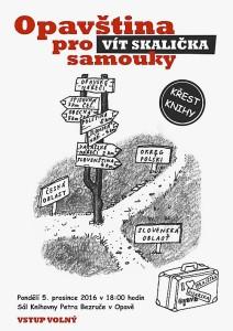 Vít Skalička: Opavština pro samouky - křest knihy