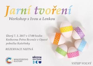 Jarní tvoření: Workshop s Ivou a Lenkou