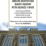EXKURZE: Unikátní architektura budovy knihovny Petra Bezruče v Opavě