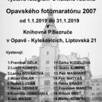 Tato výstava je ohlédnutím za nultým ročníkem Opavského fotomaratónu, který se konal v únoru 2007.